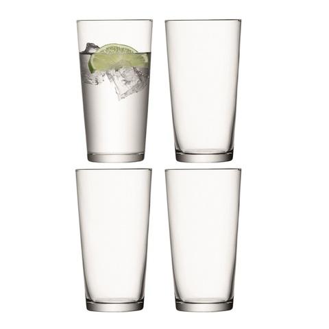Набор из 4 стаканов для сока Gio, 320 мл