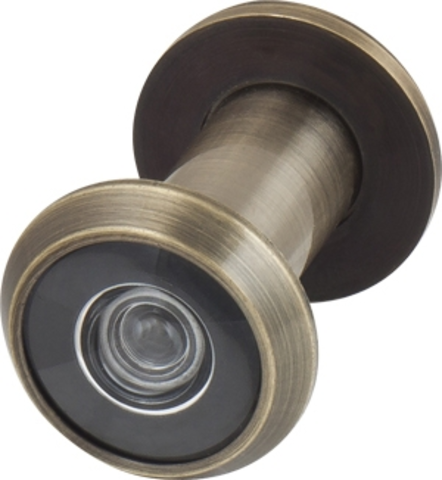 Глазок дверной, Armadillo (Армадилло) пластиковая оптика DV1, 16/35х60 AB Бронза