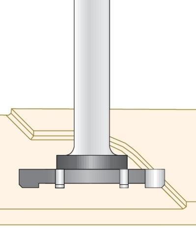 Фреза Dimar для выравнивания слэбов D52x6,5 L83 Z6 хвостовик 12 мм