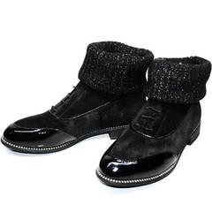 Ботинки оксфорд женские Kluchini 5161 k255 Black