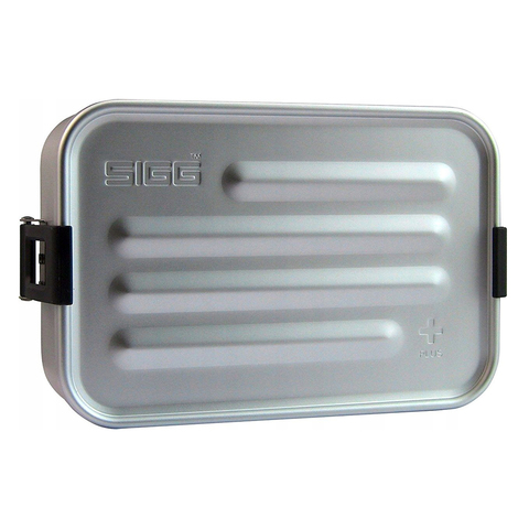 Ланчбокс Sigg Metal Box Plus S (0,9 литра), серый