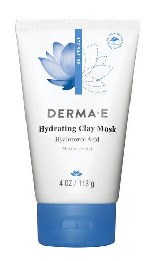 Маска Derma E Hydrating Clay Mask с гиалуроновой кислотой 113 гр