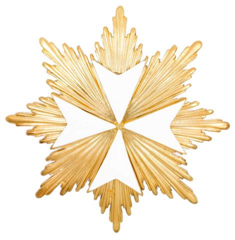 Звезда ордена Мальтийский крест (копия)