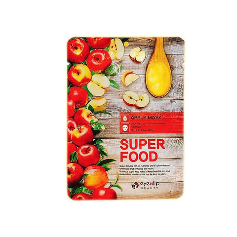 Тканевая маска для лица с экстрактом яблока Super Food Apple Mask