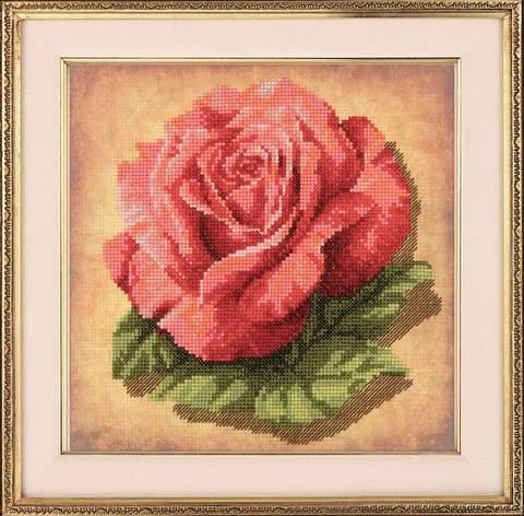 Набор для вышивания крестом «Роза» (0070 РТ)