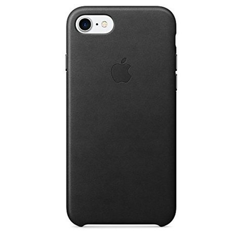 Apple Leather Case (MMY52ZM/A) - чехол для iPhone 7 (Black)