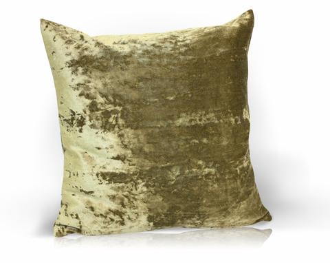 Подушка декоративная Бархат темно-зеленый