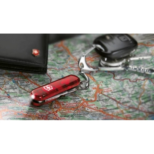 Нож-брелок Victorinox SwissLite (0.6228.T) с фонариком, 8 функций, 58 мм. в сложенном виде | Wenger-Victorinox.Ru