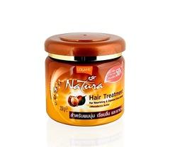 Маска для лечения волос с Макадамией. Lolane Natura
