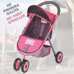 DeCuevas Прогулочная коляска для кукол City Max, 56 см (90218)