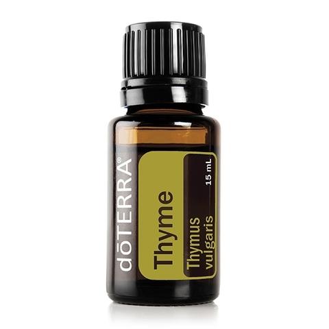 Тимьян (Thymus vulgaris), эфирное масло, 15 мл / THYME ESSENTIAL OIL