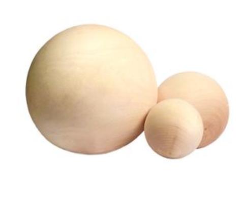 056-9822 Шар деревянный 1 см (10 шт.)