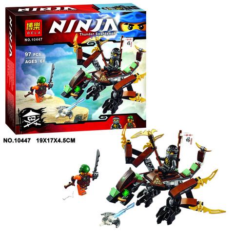 Конструктор Ниндзяго 10447 Дракон Коула 97 дет.
