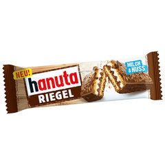Hanuta Riegel с шоколадом и орехами 172 гр