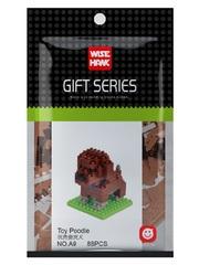 Конструктор Wisehawk & LNO Той-пудель 88 деталей NO. A9 Toy Poodle Gift Series