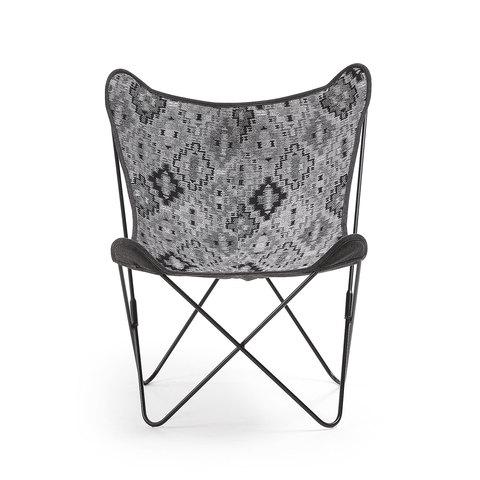 Кресло Flynn ткань темно-серый
