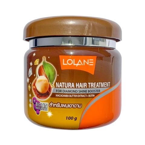Маска для волос с маслом макадамии Lolane Natura, 100 мл.