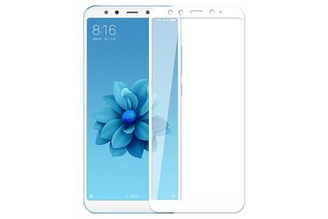 Защитное стекло 3D для Xiaomi A2 (белое)