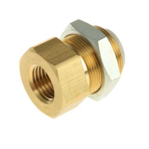 KQ2E06-01A  Соединение для панельного монтажа