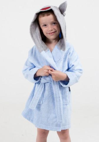 Детский бамбуковый халат с ушками