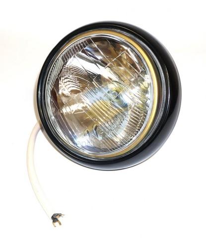 Фара (ФГ122) Уаз 452, 469 в сборе с наружным ободком, проводом и обычной лампой (пр-во Освар)
