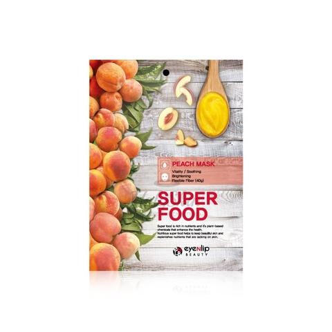 Тканевая маска для лица с экстрактом персика Super Food Peach Mask