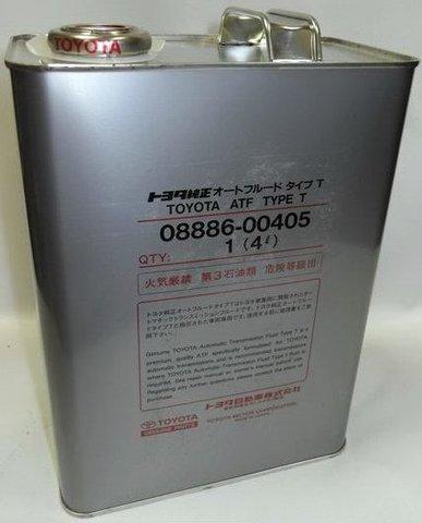 TOYOTA ATF D-III TYPE T Жидкость трансмиссионная АКПП (железо/Япония)