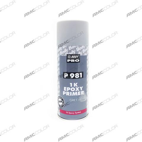 Аэрозольный грунтBody PRO P981 EPOXY PRIMER 1K 0,4л