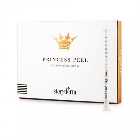 Пилинг крем с золотыми микроиглами Princess Peel, Набор