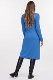 Платье для беременных 09166 синий