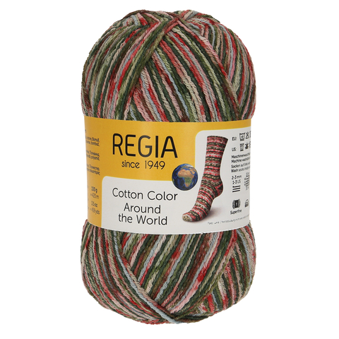 Regia Cotton Color Around The World 2413