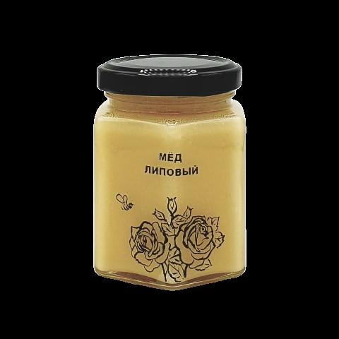 Мёд натуральный ЛИПОВЫЙ, 250 гр