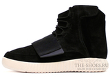 Кеды Мужские Adidas Yeezy Boost 750 Black White