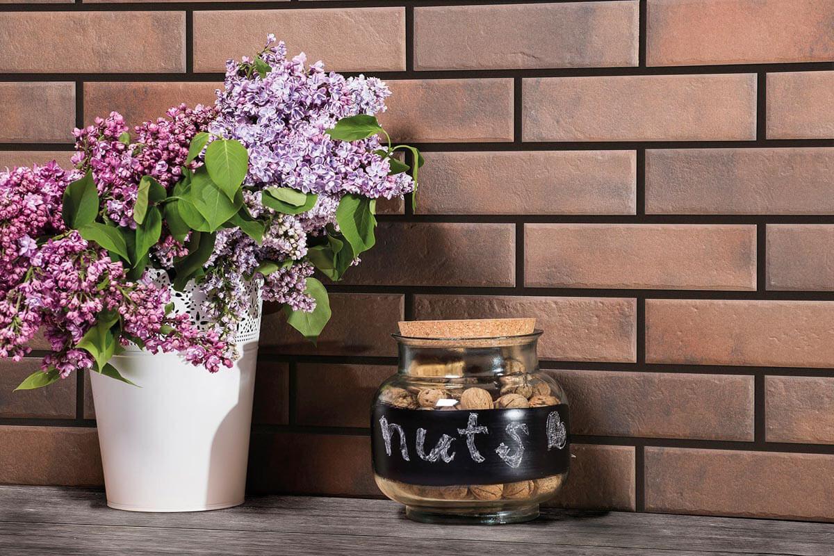 Cerrad Retro brick, Cardamon, 245x65x8 - Клинкерная плитка для фасада и внутренней отделки
