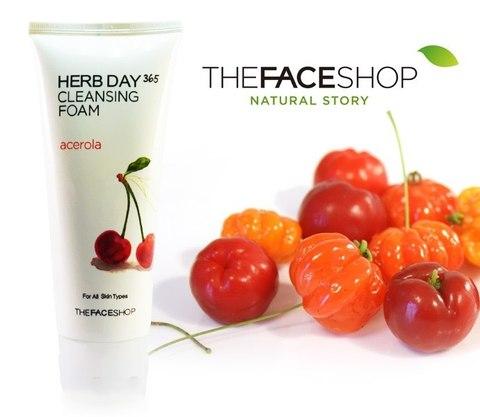 Пенка для умывания Ацерола The Face Shop (170 мл)