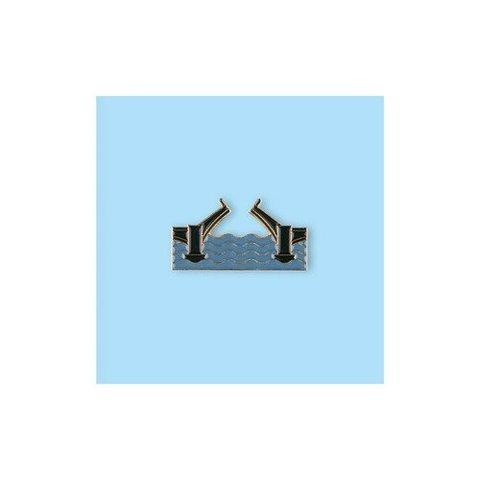 Значок металлический СПБ Разводной мост