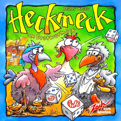 Настольная игра Хекмек или как заморить червячка (Heckmeck am Bratwurmeck). Доставка бесплатно!