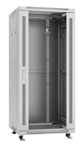 Шкаф напольный 19-дюймовый, 27U SH-05C-27U60/60 (7045c)