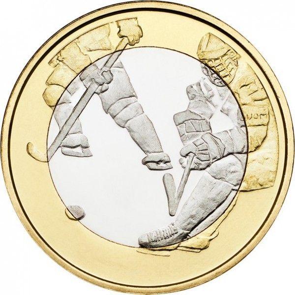 5 евро 2016 Финляндия - Хоккей с шайбой
