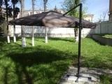 Зонт от солнца на боковой опоре Luxe 3 м Beige