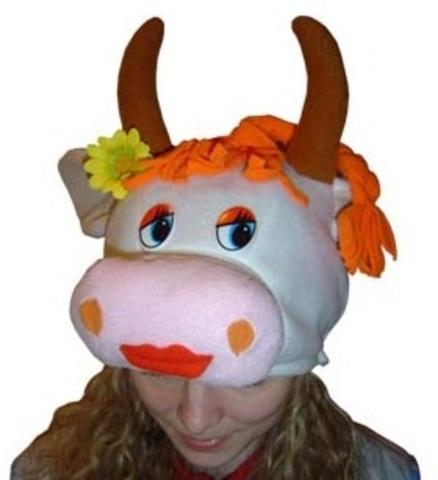 Шапочка Корова Муля