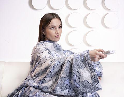 Плед с рукавами Gekoko Premium «Звездный»-2