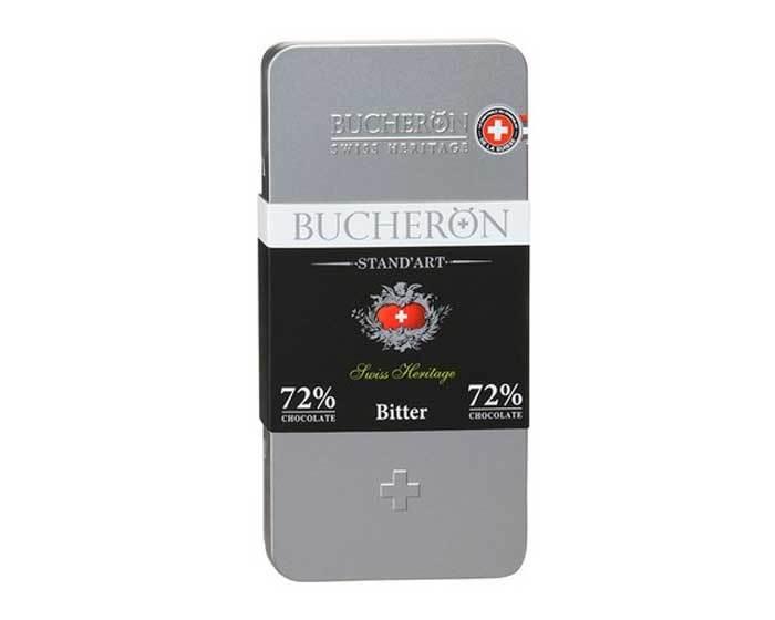 Горький шоколад Bucheron