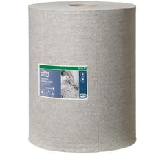 Нетканый протирочный материал в рулонах с центральной вытяжкой Tork Premium 520337 W1/W2/W3 серый (148.2 метра в рулоне)