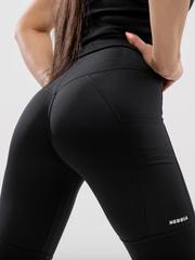 Лосины NEBBIA High waist Fit&Smart leggings 505 black
