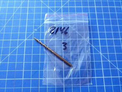 Сверло по металлу ц/x 3,0x61/33мм DIN338 h8 5xD HSS-G 130° TURBO Ruko 2146030 (В)