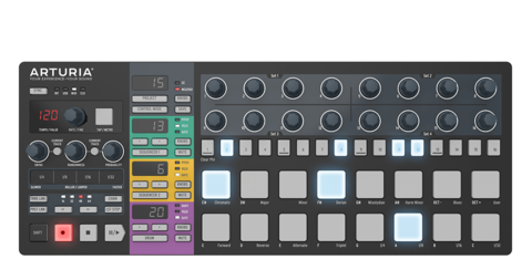 MIDI-контроллер Arturia BeatStep Pro Black Edition