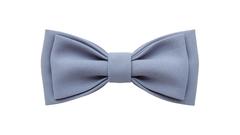 Однотонный галстук - бабочка (серый шифер)