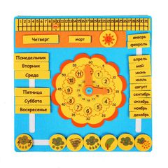 Календарь из фетра, Смайл Декор