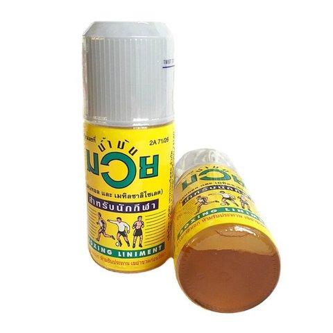 Разогревающее масло NAMMAN MUAY.  60 мл.